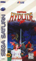 Virtual Hydlide usa cover