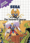 Ys: The Vanished Omens Sega Master System - US cover